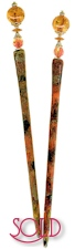 Amber Jewel Special Edition BijouStix Hair Sticks
