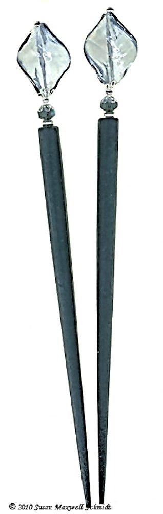 Aspen Blue LongLocks RapunzelStix Hair Sticks