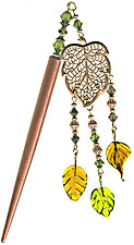 Autumn's Horizon GeishaStix Japanese Hair Ornament