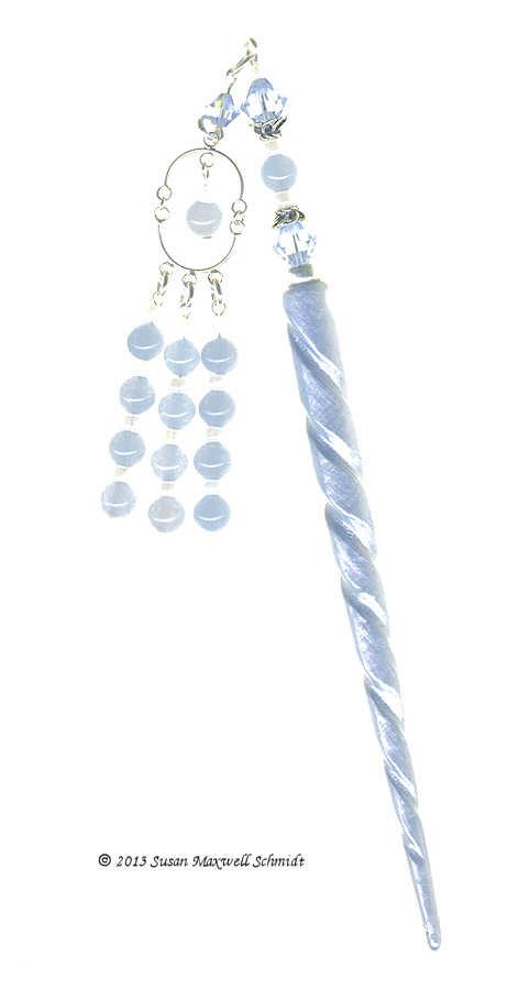 Belle Azure Special Edition LongLocks GeishaStix Hair Sticks