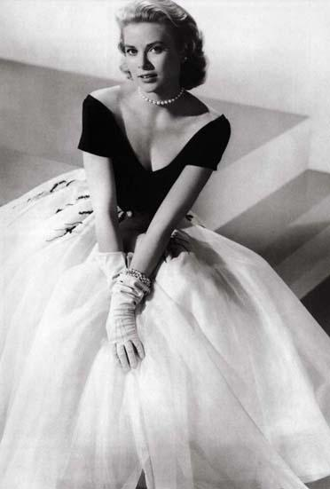 grace kelly wedding dress style. Filed under: Style
