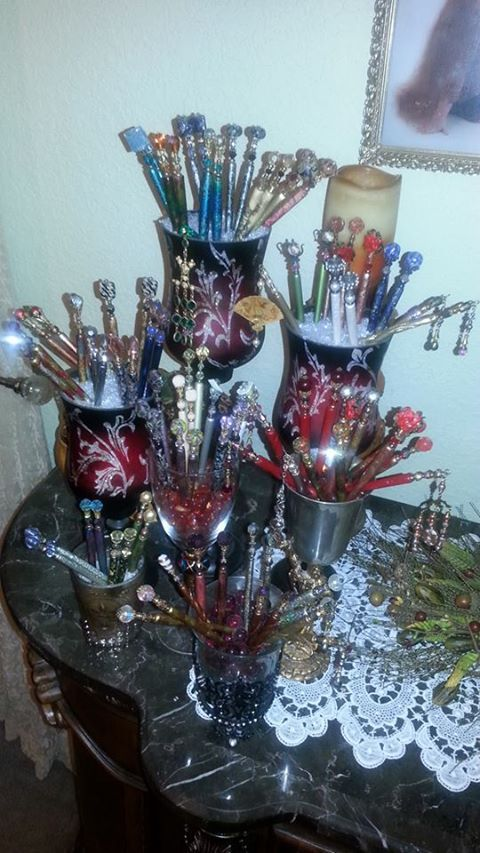 Image of Amy and Dee Ann Sagor's LongLocks HairSticks Collection for Facebook Photo Contest
