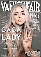 Lady Gaga on Cover of Vanity Fair With Gray Hair