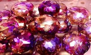 Heliotrope Crystals for LongLocks HairSticks