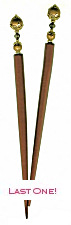 Bronze Ambrosia RapunzelStix Hair Sticks