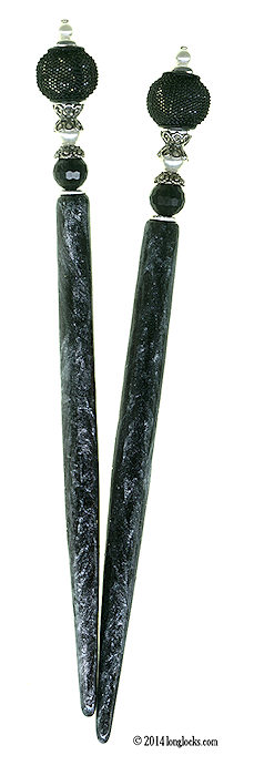 Captive Pearls Special Edition FantasyStix LongLocks HairSticks - Click to see our full catalog!