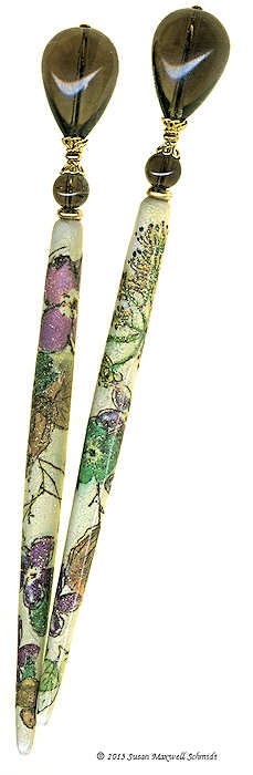 Cedar Forest Special Edition SugarStix LongLocks HairSticks - Click to see our full catalog!