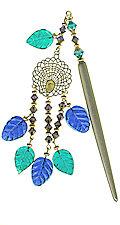 Courtyard Peacock Japanese Hair Ornament