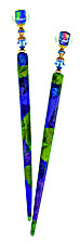 Dichroic Drama Special Edition DecoStix Hair Jewelry