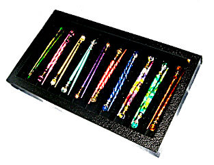 LongLocks HairSticks Jewelry Display Case