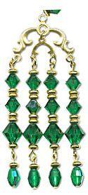 Emerald Dragon LongLocks GeishsaStix Kanzashi Hair Pin