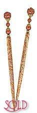 Fire Lotus FoilStix Hair Sticks