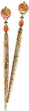 Firey Blooms FoilStix Hair Sticks