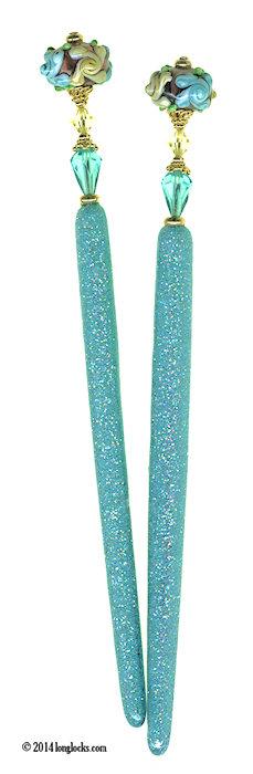 LongLocks GlitterStix Hair Sticks