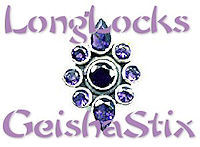 LongLocks GeishaStix Hair Pins
