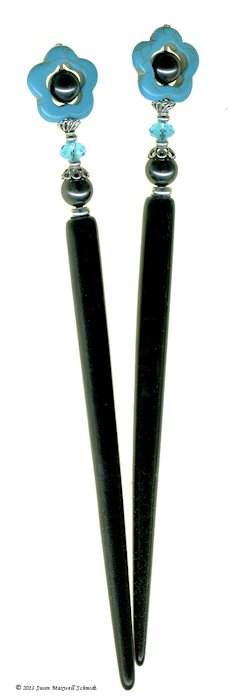 New Spirit Special Edition Original LongLocks HairSticks - Click to see our hair jewelry catalog!