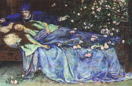 Sleeping Beauty by Henry Maynell Rheam