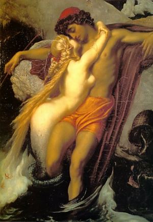 The Fisherman and the Siren by Frederic Leighton