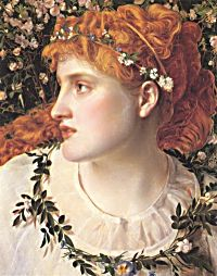 Perdita by Anthony Frederick Sandys