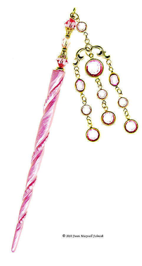 Pink Perfume LongLocks GeishaStix Hair Pin