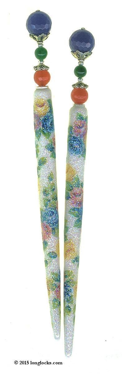 Precious Gems Special Edition LongLocks SugarStix Hair Sticks