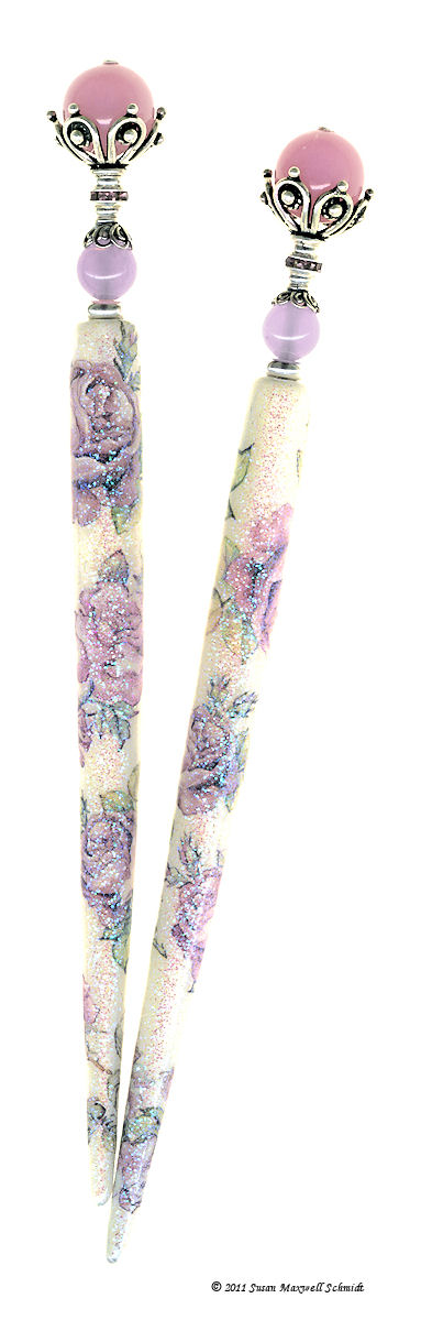 Ramblin' Rose Special Edition LongLocks SugarStix Hair Sticks