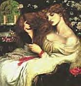 Lady Lilith by Dante Gabriel Rossetti