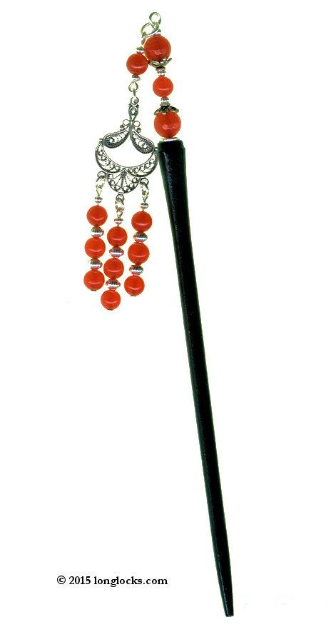 Ruby Special Edition LongLocks GeishaStix Hair Sticks