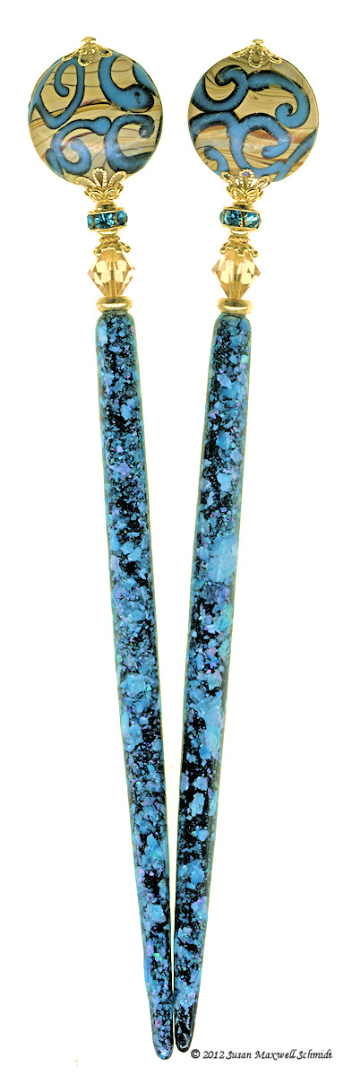 Sandy Sea Special Edition LongLocks PearliStix Hair Sticks