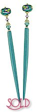 Sea Violet GlimmerStix Hair Sticks