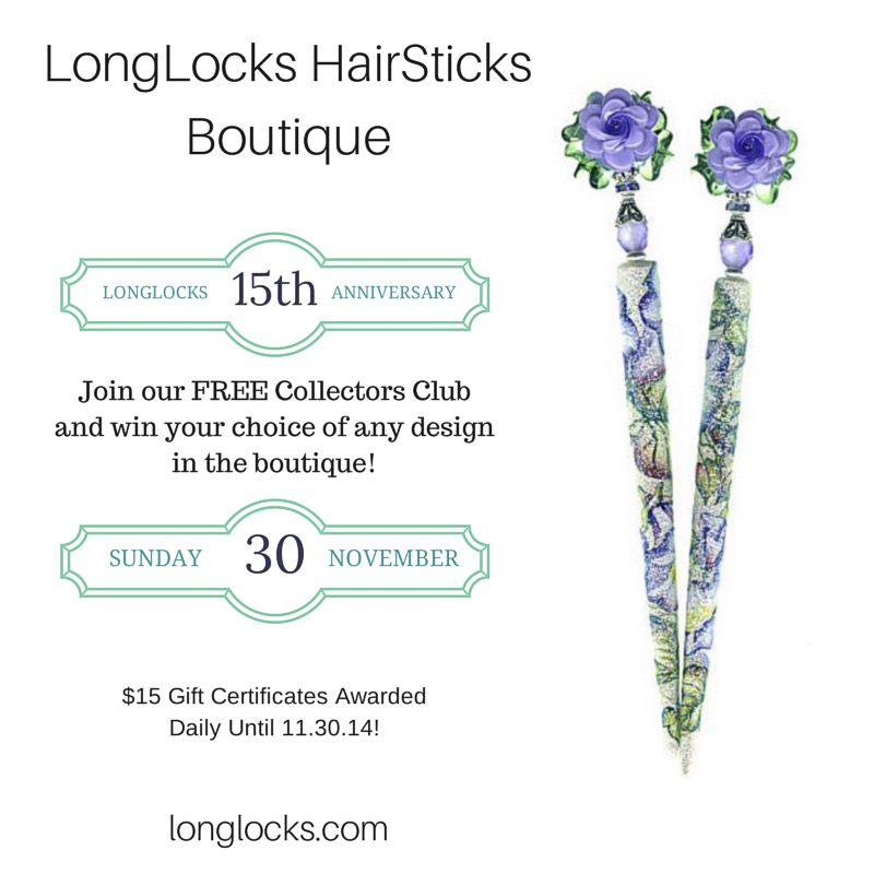 Win a Pair of LongLocks HairSticks!