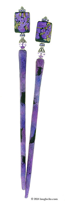 Cassis Soecial Edition LongLocks BijouStix Hair Sticks