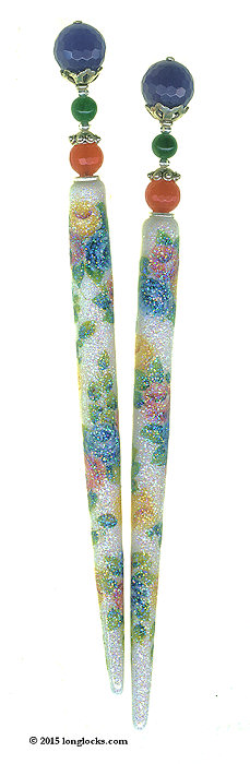 Precious Gems Special Edition LongLocks SugarStix Hair Sticks