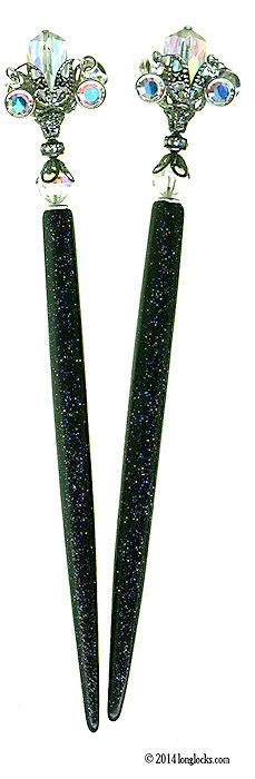 Venusian Tulip LongLocks HoloStix Hair Sticks