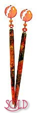 Sunset, Sunrise BijouStix Hair Sticks