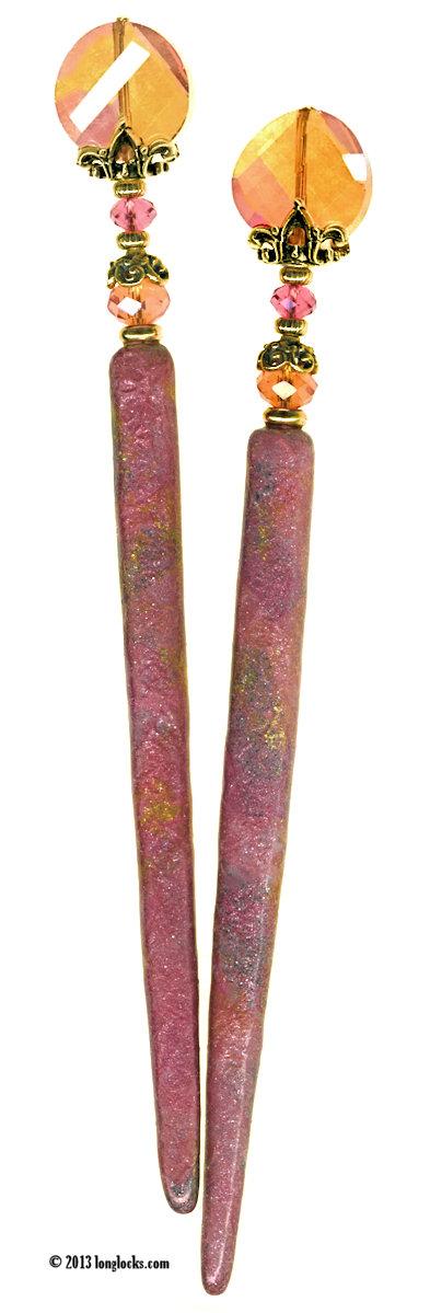 Sunshine Shimmer LongLocks ShimmerStix Hair Sticks