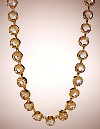 Allen B. Schwartz Stone Collar Necklace