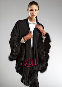 Belle Fare Fox Fur Cape