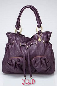 Big Buddha Denise Satchel Purple