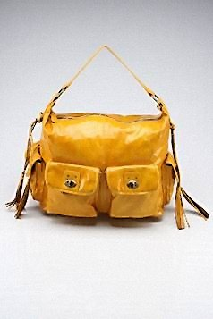 Big Buddha Yellow Downtown Satchel