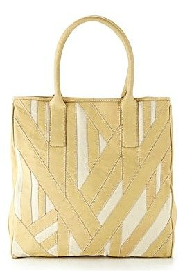 Hype Harry Patchwork Tote in Sand