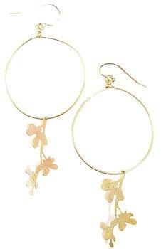 Jami Rodriguez 14kt. Gold-Filled Hoop Earrings