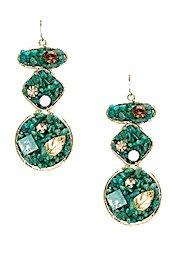 Sparkling Sage Amazonite Earrings
