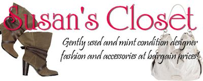 Susan's Closet - Gently Used Designer Fashion at Bargain Prices!