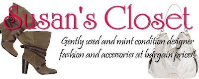 Susan's Closet - Gently Used Designer Fashion at Bargain Prices!